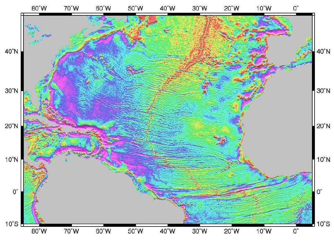 Atlanticocean Gravity