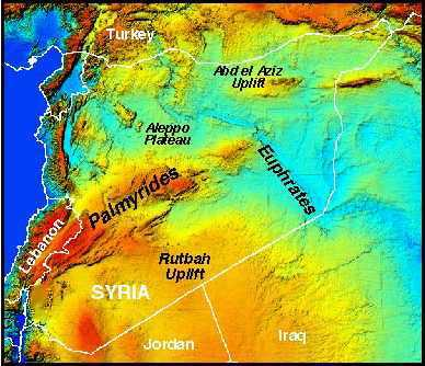 Cornell Syria Geology Geophysics Project
